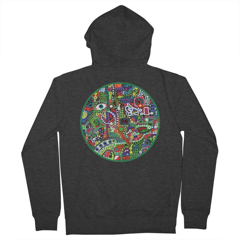 'irregularity' Men's French Terry Zip-Up Hoody by J. Lavallee's Artist Shop