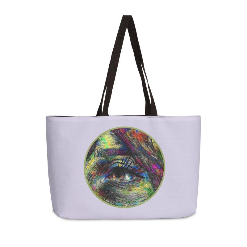 selfportrait / eye Accessories Bag by J. Lavallee's Artist Shop