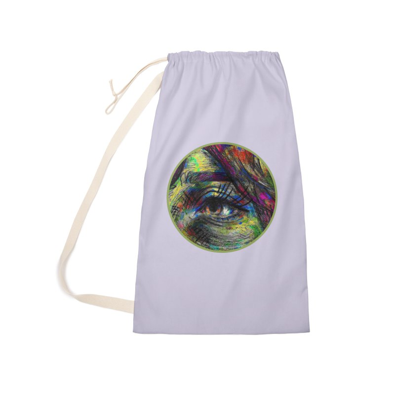 selfportrait / eye Accessories Bag by J. Lavallee's Artist Shop