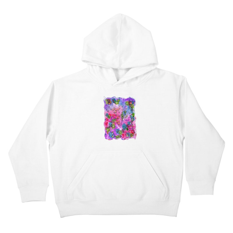 """""""sunset from under the ocean"""" Kids Pullover Hoody by J. Lavallee's Artist Shop"""