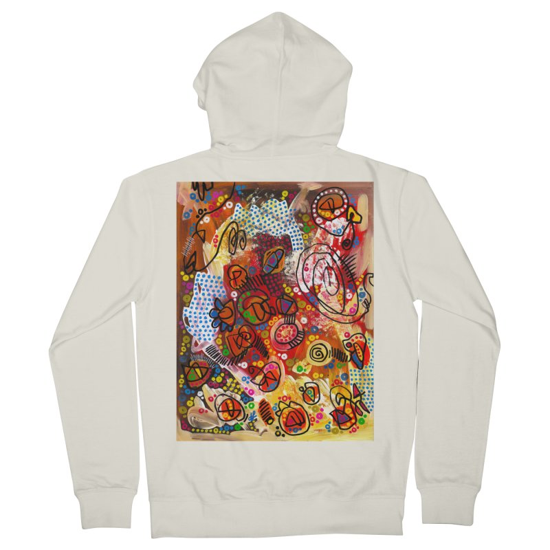 """the infernal"" Women's French Terry Zip-Up Hoody by J. Lavallee's Artist Shop"
