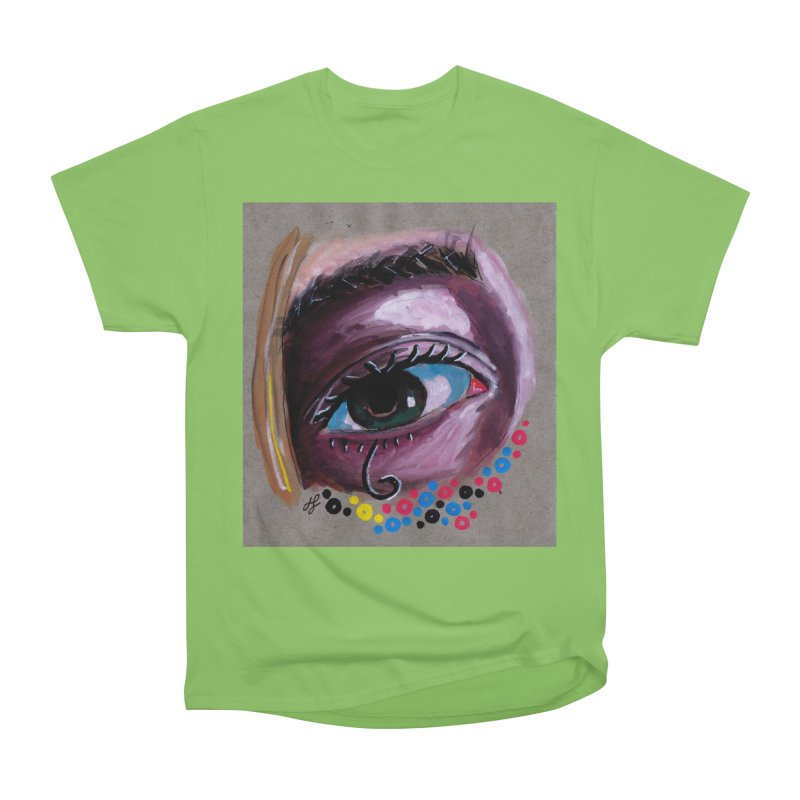 """eye study #2"" Men's Heavyweight T-Shirt by J. Lavallee's Artist Shop"