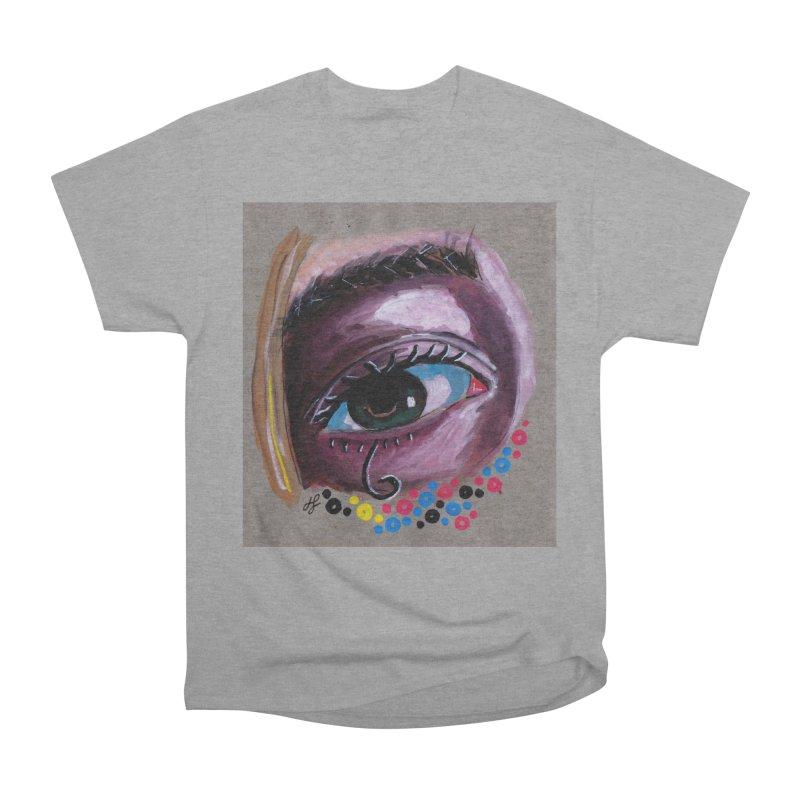 """eye study #2"" Women's Heavyweight Unisex T-Shirt by J. Lavallee's Artist Shop"