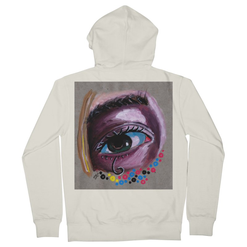 """""""eye study #2"""" Men's French Terry Zip-Up Hoody by J. Lavallee's Artist Shop"""