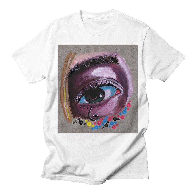 """eye study #2"" Men's Regular T-Shirt by J. Lavallee's Artist Shop"