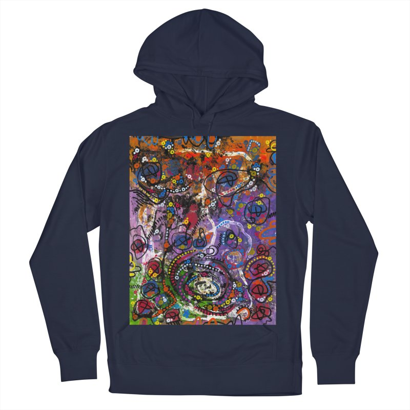 """""""tempest"""" Women's French Terry Pullover Hoody by J. Lavallee's Artist Shop"""