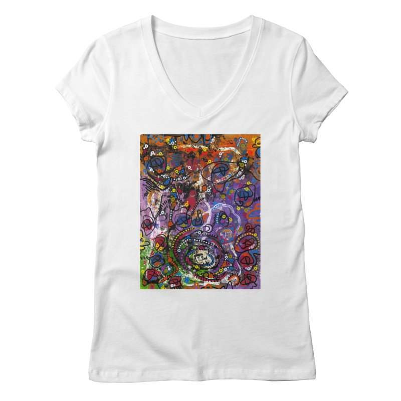 """tempest"" Women's Regular V-Neck by J. Lavallee's Artist Shop"