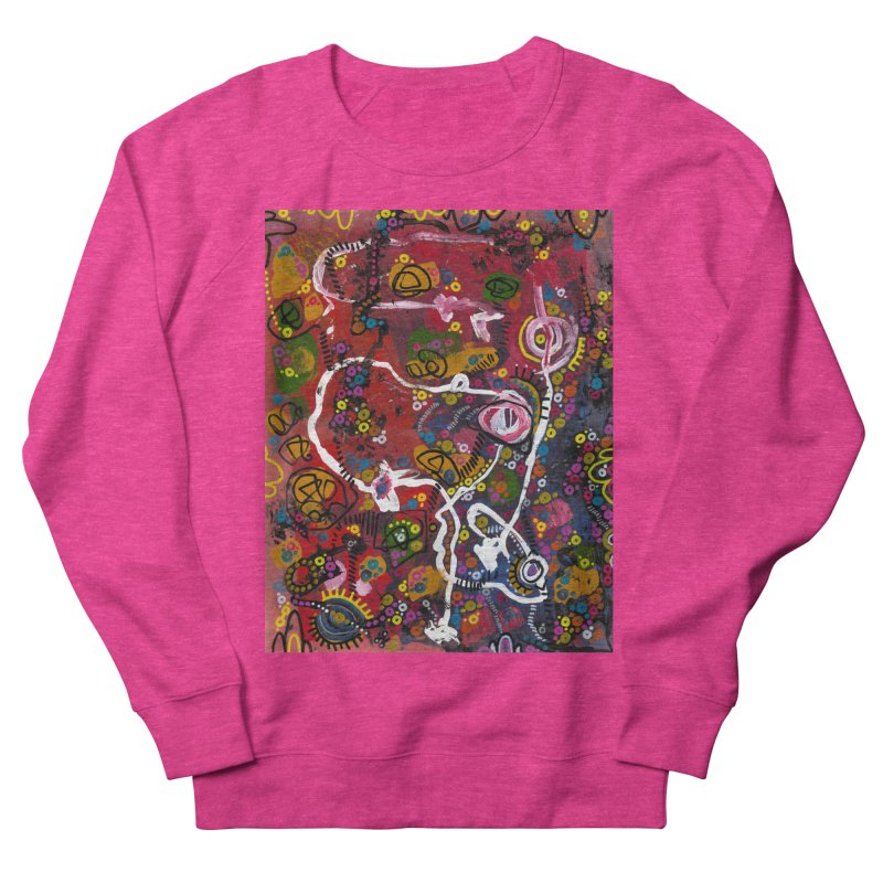 """""""eruption and rebirth"""" Men's French Terry Sweatshirt by J. Lavallee's Artist Shop"""