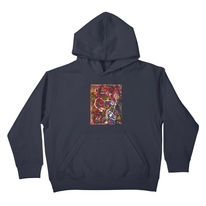 """""""eruption and rebirth"""" Kids Pullover Hoody by J. Lavallee's Artist Shop"""