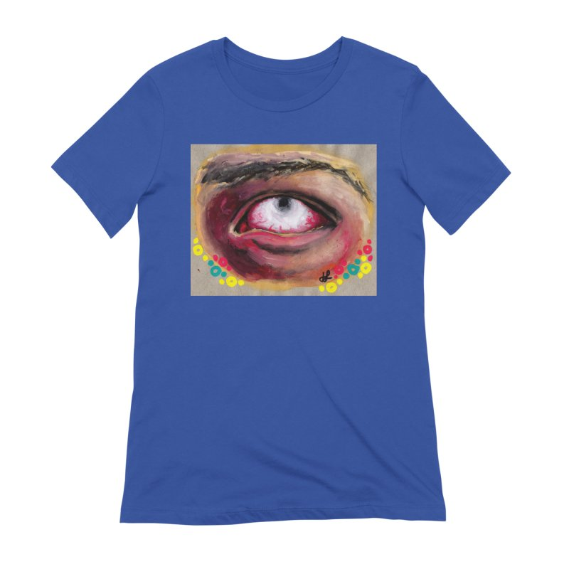 """""""demon of fatigue"""" Women's Extra Soft T-Shirt by J. Lavallee's Artist Shop"""
