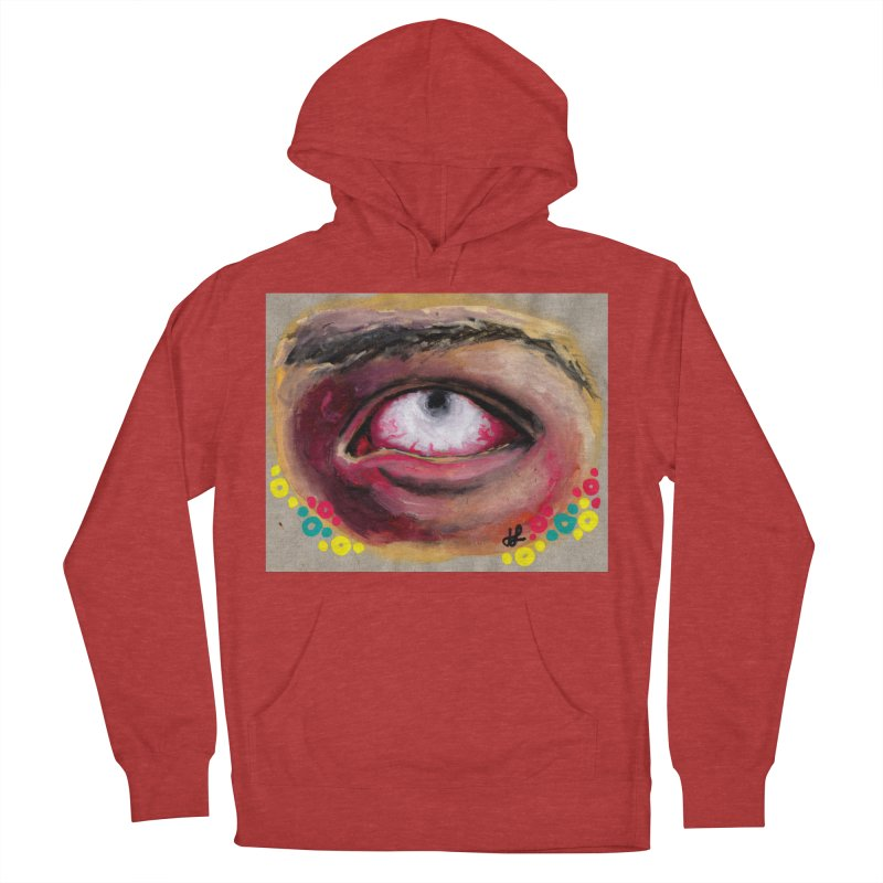 """demon of fatigue"" Men's French Terry Pullover Hoody by J. Lavallee's Artist Shop"