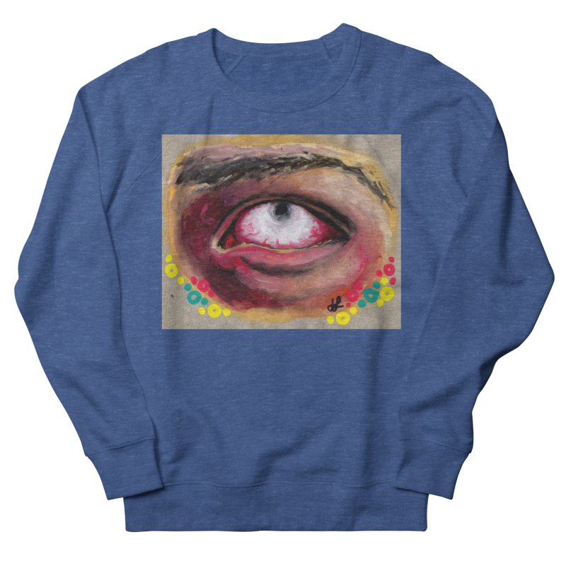"""""""demon of fatigue"""" Men's French Terry Sweatshirt by J. Lavallee's Artist Shop"""