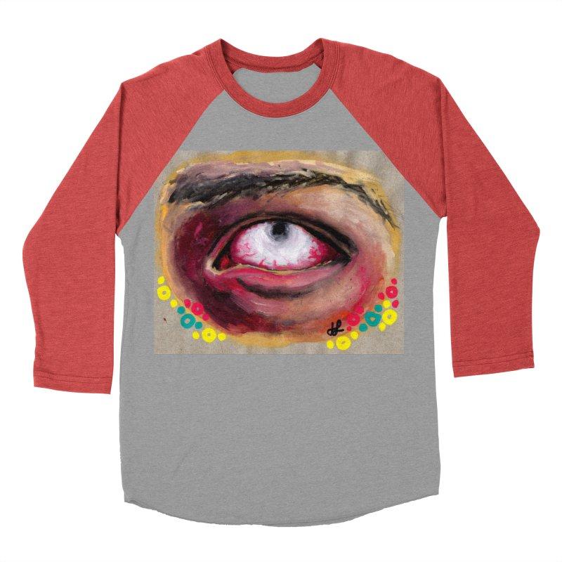 """demon of fatigue"" Women's Baseball Triblend Longsleeve T-Shirt by J. Lavallee's Artist Shop"