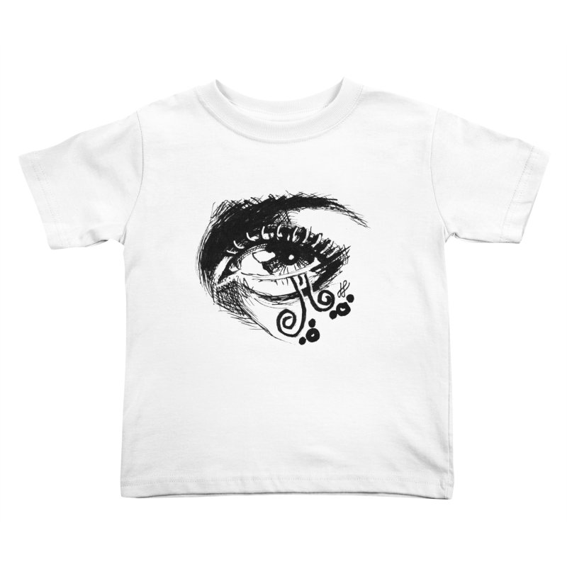 """""""grayscale"""" Kids Toddler T-Shirt by J. Lavallee's Artist Shop"""