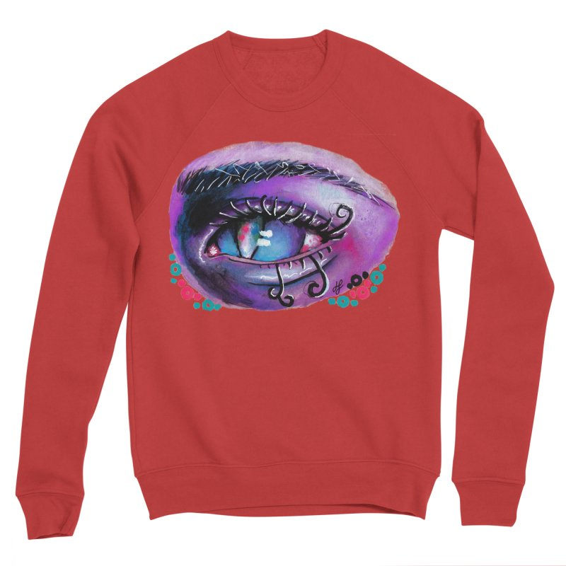 """isolation"" Women's Sponge Fleece Sweatshirt by J. Lavallee's Artist Shop"