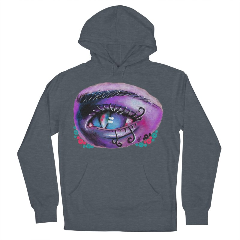 """""""isolation"""" Women's French Terry Pullover Hoody by J. Lavallee's Artist Shop"""
