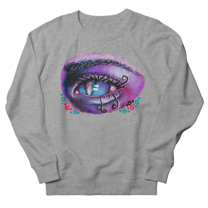 """""""isolation"""" Men's French Terry Sweatshirt by J. Lavallee's Artist Shop"""