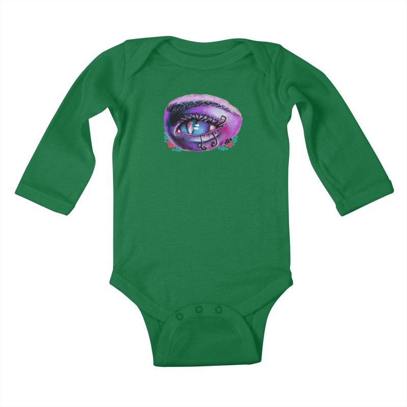 """isolation"" Kids Baby Longsleeve Bodysuit by J. Lavallee's Artist Shop"