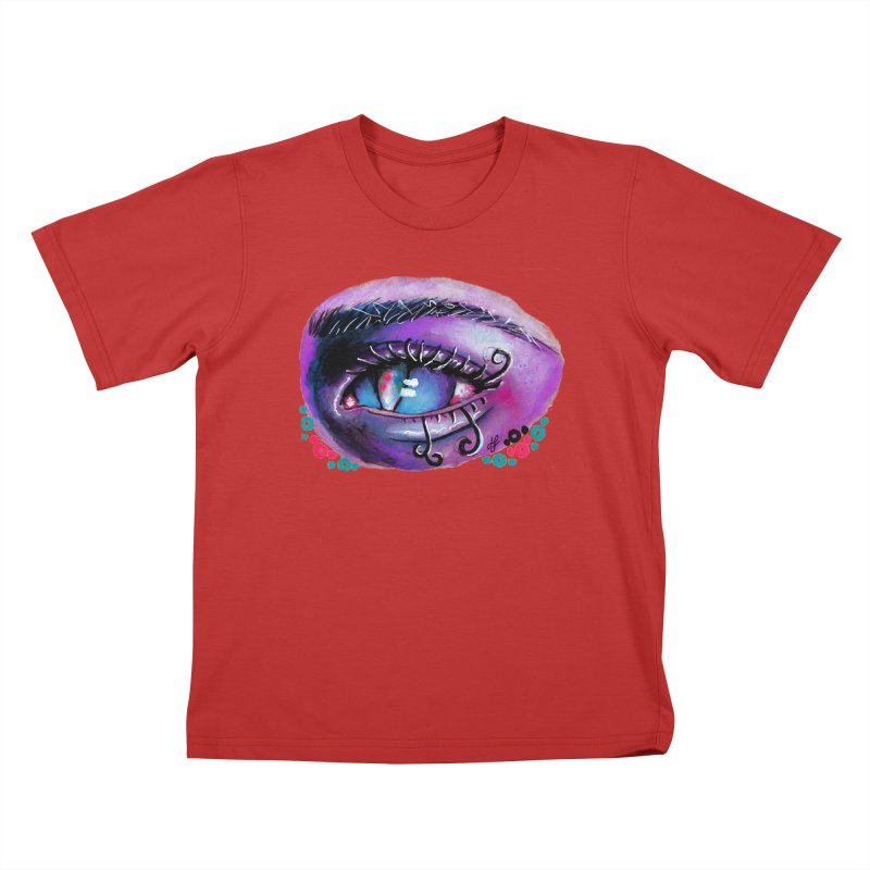 """isolation"" Kids T-Shirt by J. Lavallee's Artist Shop"