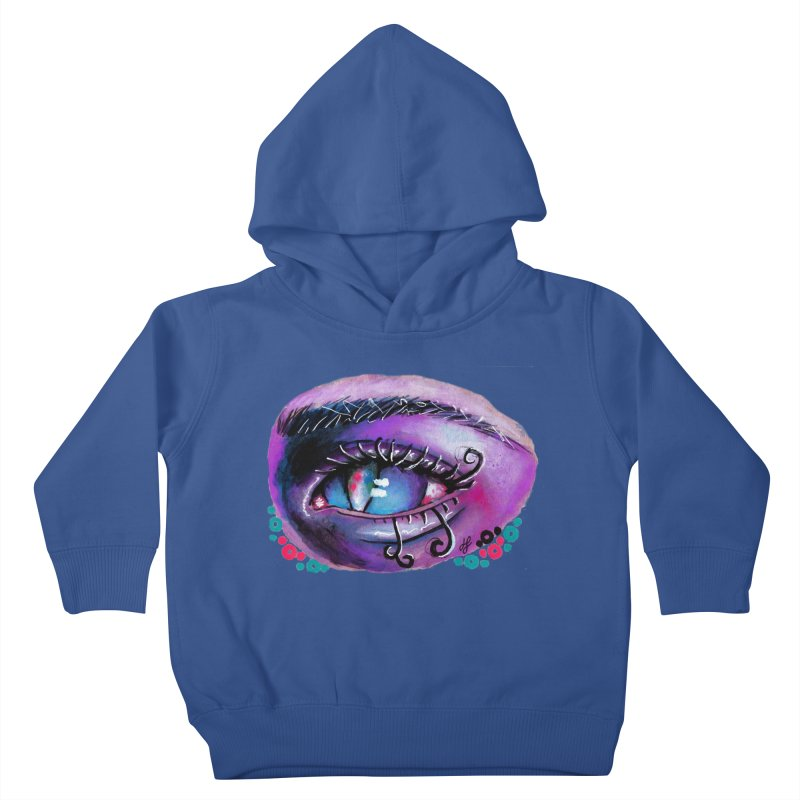 """""""isolation"""" Kids Toddler Pullover Hoody by J. Lavallee's Artist Shop"""