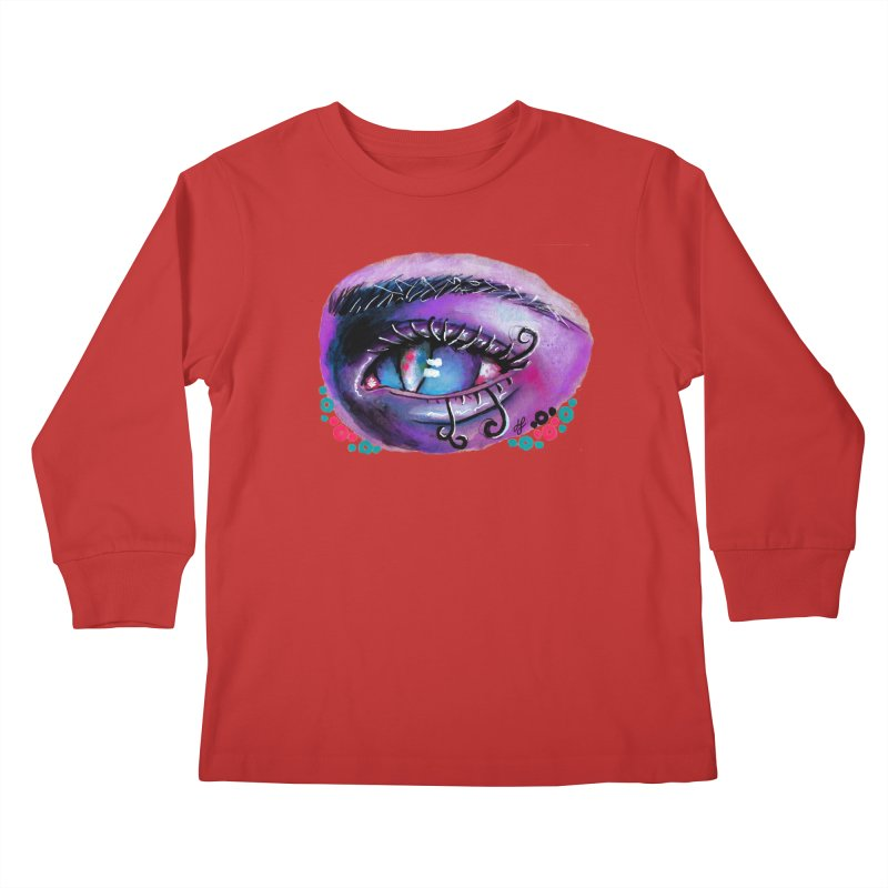 """isolation"" Kids Longsleeve T-Shirt by J. Lavallee's Artist Shop"
