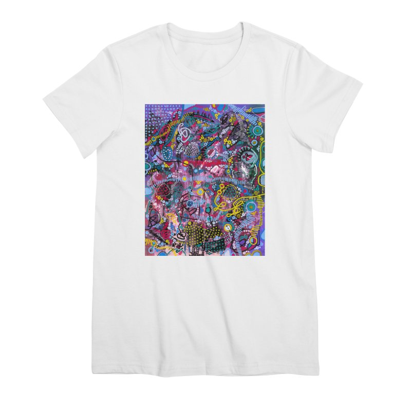 """""""racing thoughts"""" Women's Premium T-Shirt by J. Lavallee's Artist Shop"""