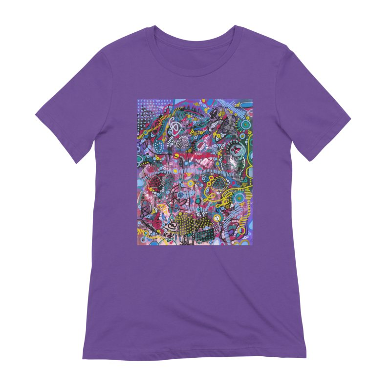 """""""racing thoughts"""" Women's Extra Soft T-Shirt by J. Lavallee's Artist Shop"""