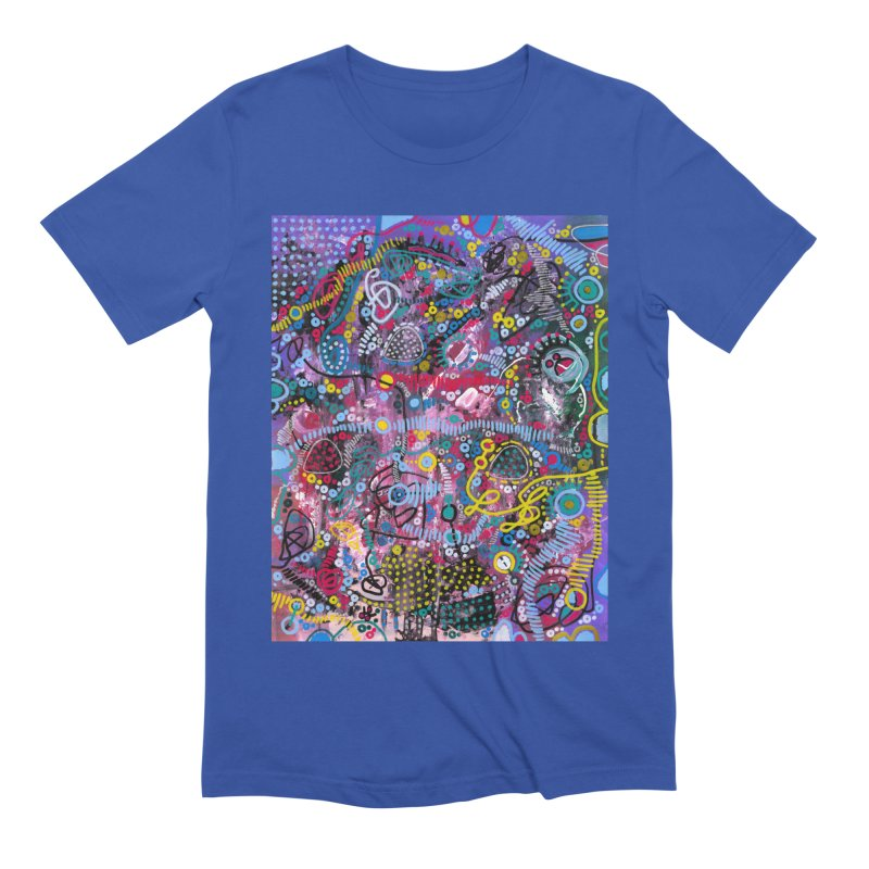 """""""racing thoughts"""" Men's Extra Soft T-Shirt by J. Lavallee's Artist Shop"""