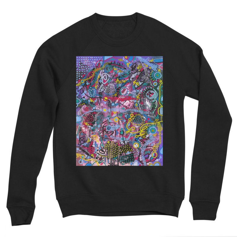 """racing thoughts"" Women's Sponge Fleece Sweatshirt by J. Lavallee's Artist Shop"