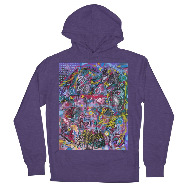 """""""racing thoughts"""" Men's French Terry Pullover Hoody by J. Lavallee's Artist Shop"""