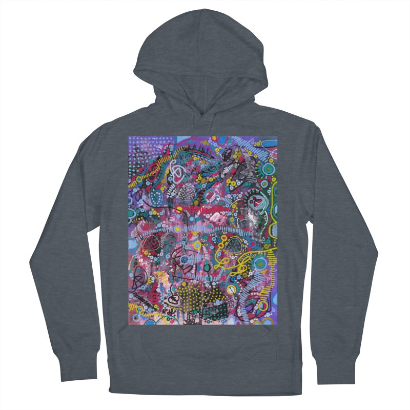 """racing thoughts"" Men's French Terry Pullover Hoody by J. Lavallee's Artist Shop"