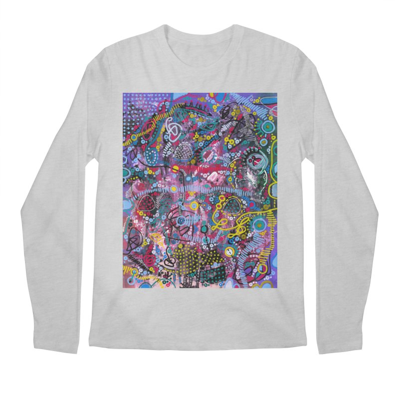 """racing thoughts"" Men's Regular Longsleeve T-Shirt by J. Lavallee's Artist Shop"