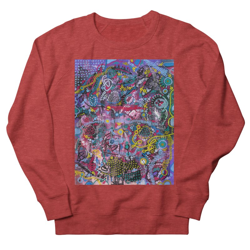 """racing thoughts"" Women's French Terry Sweatshirt by J. Lavallee's Artist Shop"