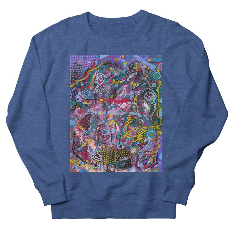 """""""racing thoughts"""" Men's French Terry Sweatshirt by J. Lavallee's Artist Shop"""