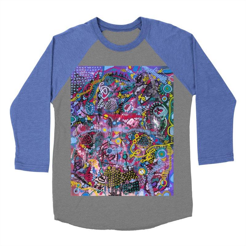 """racing thoughts"" Women's Baseball Triblend Longsleeve T-Shirt by J. Lavallee's Artist Shop"