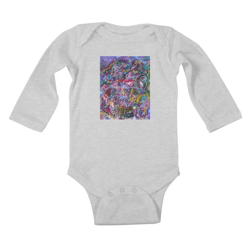 """racing thoughts"" Kids Baby Longsleeve Bodysuit by J. Lavallee's Artist Shop"