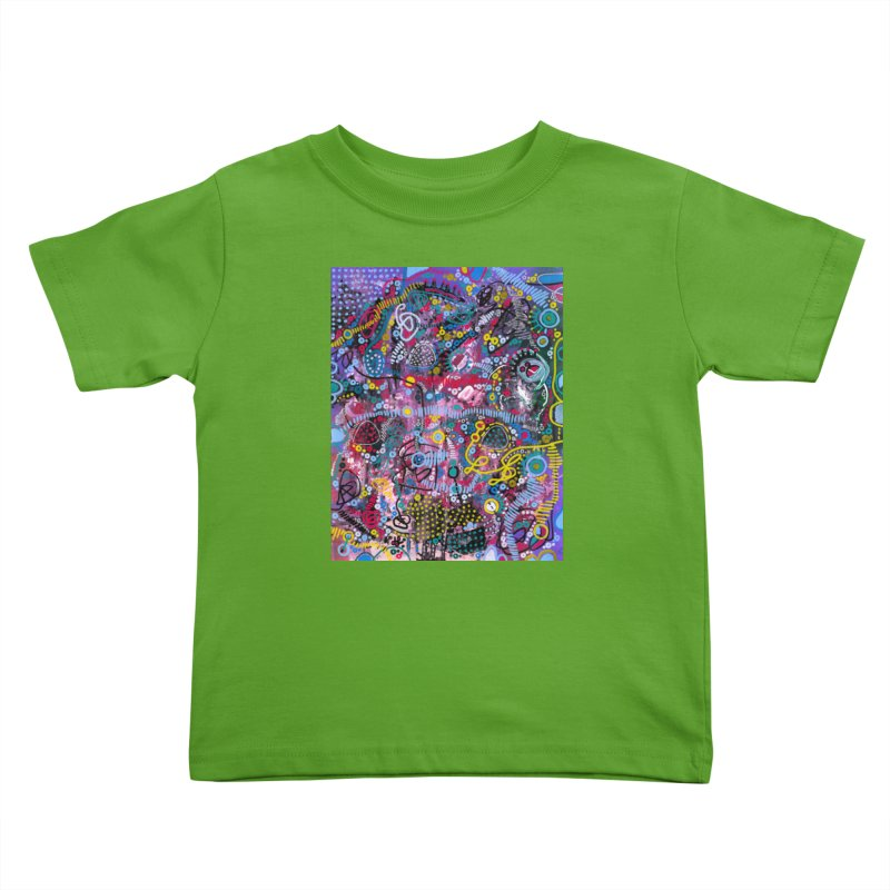 """""""racing thoughts"""" Kids Toddler T-Shirt by J. Lavallee's Artist Shop"""