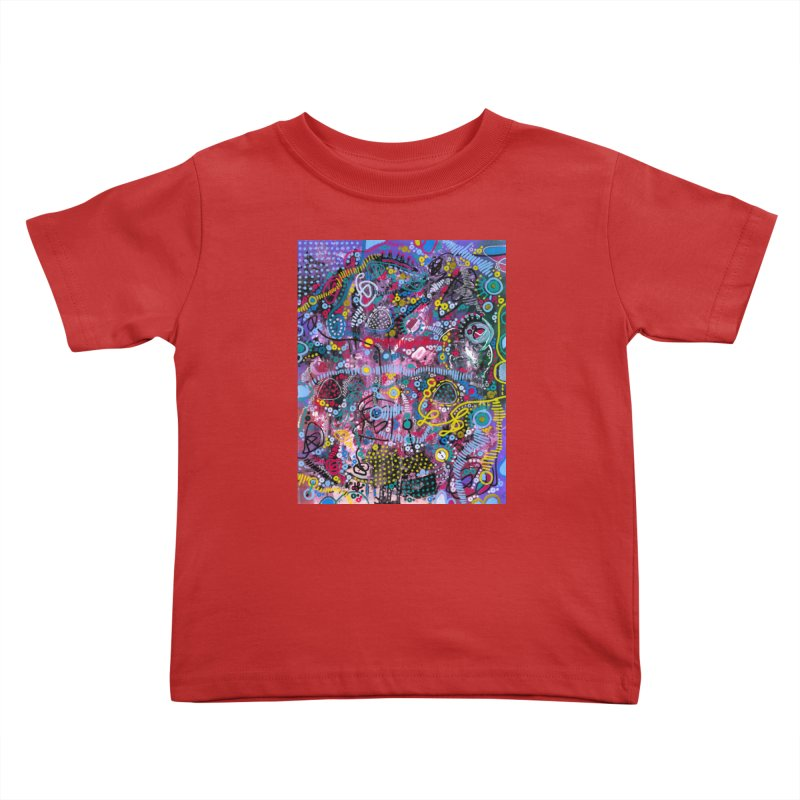 """racing thoughts"" Kids Toddler T-Shirt by J. Lavallee's Artist Shop"
