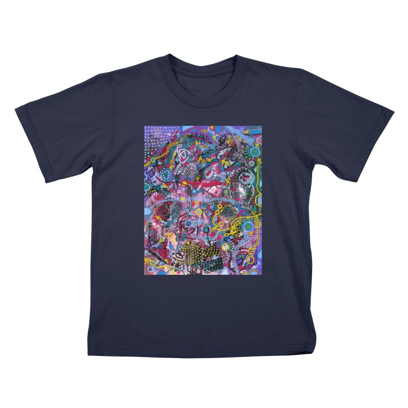 """""""racing thoughts"""" Kids T-Shirt by J. Lavallee's Artist Shop"""