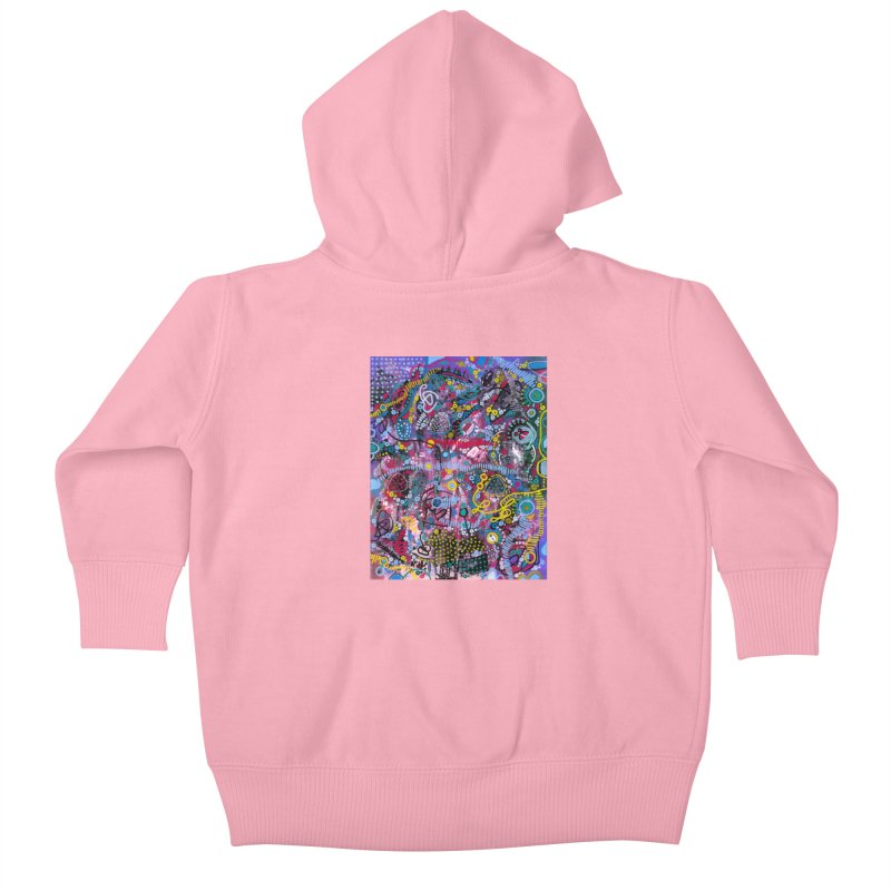 """""""racing thoughts"""" Kids Baby Zip-Up Hoody by J. Lavallee's Artist Shop"""