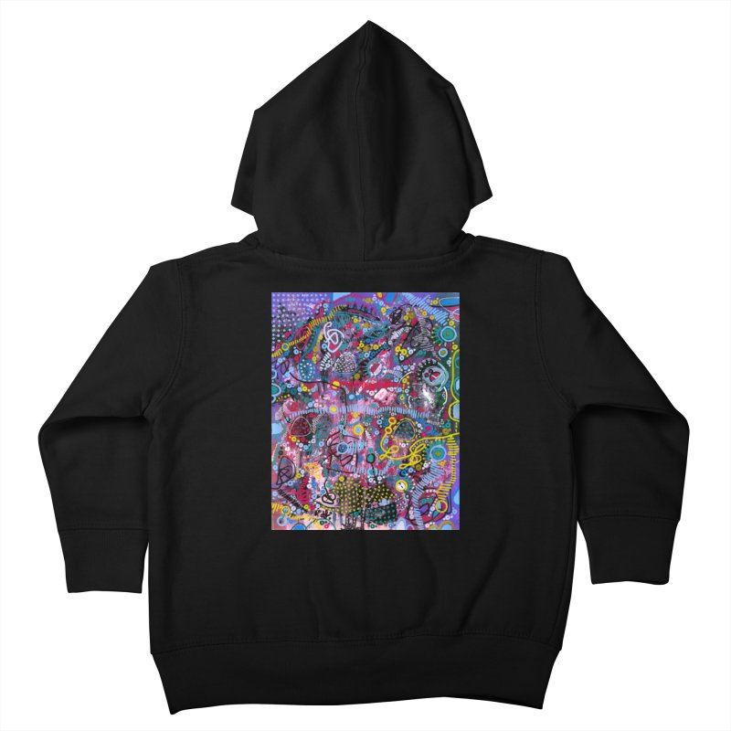 """racing thoughts"" Kids Toddler Zip-Up Hoody by J. Lavallee's Artist Shop"