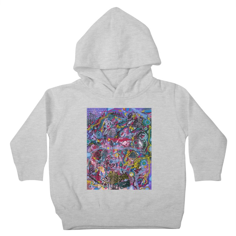 """""""racing thoughts"""" Kids Toddler Pullover Hoody by J. Lavallee's Artist Shop"""