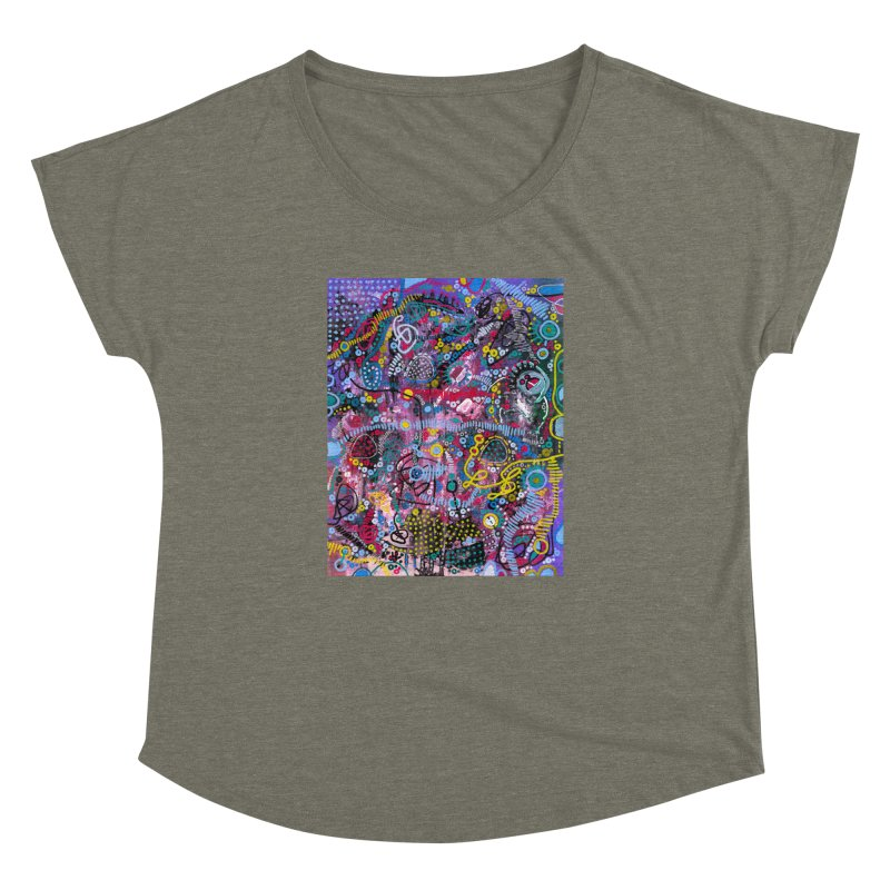 """""""racing thoughts"""" Women's Dolman Scoop Neck by J. Lavallee's Artist Shop"""