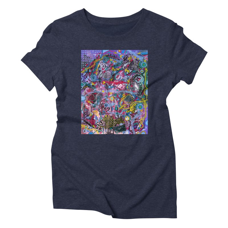 """""""racing thoughts"""" Women's Triblend T-Shirt by J. Lavallee's Artist Shop"""