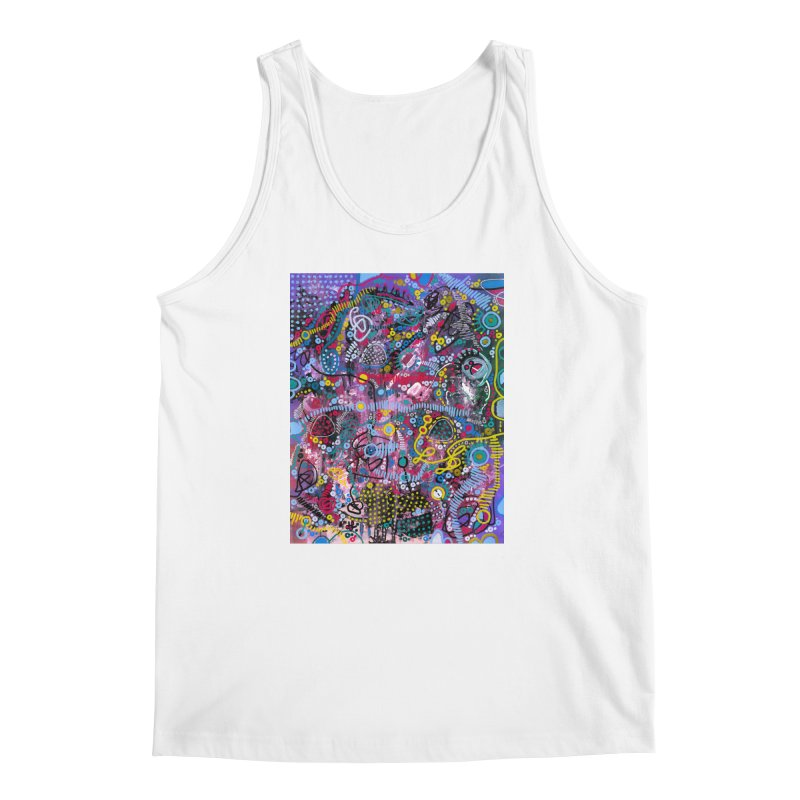 """racing thoughts"" Men's Regular Tank by J. Lavallee's Artist Shop"