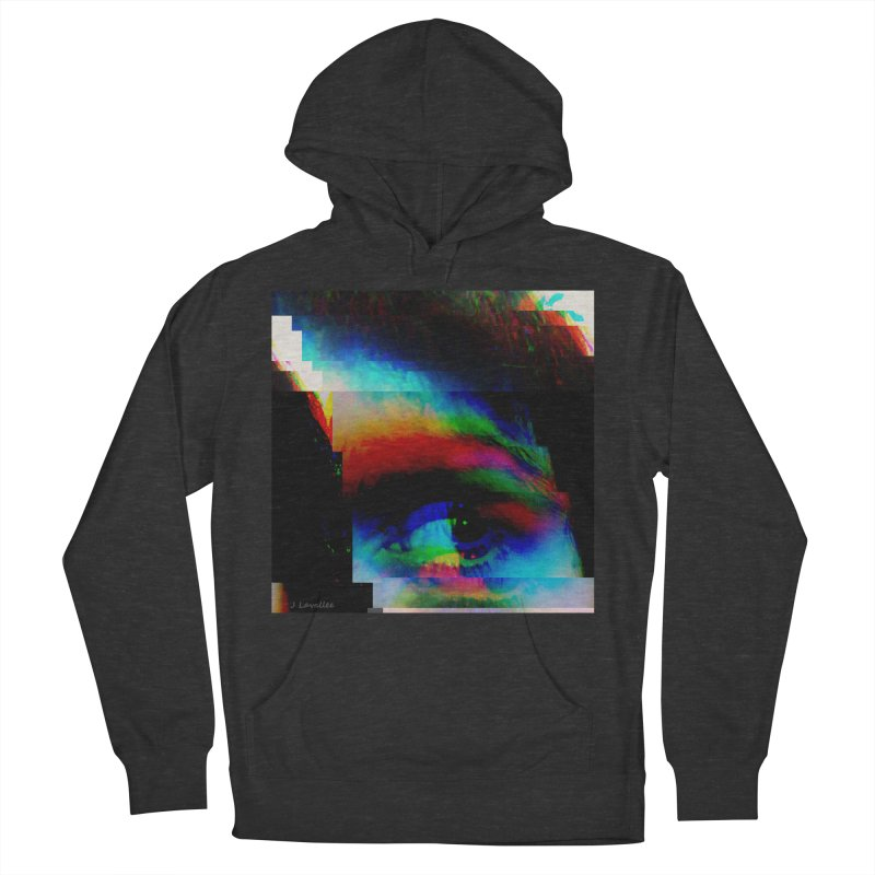 drkness.png Women's French Terry Pullover Hoody by J. Lavallee's Artist Shop