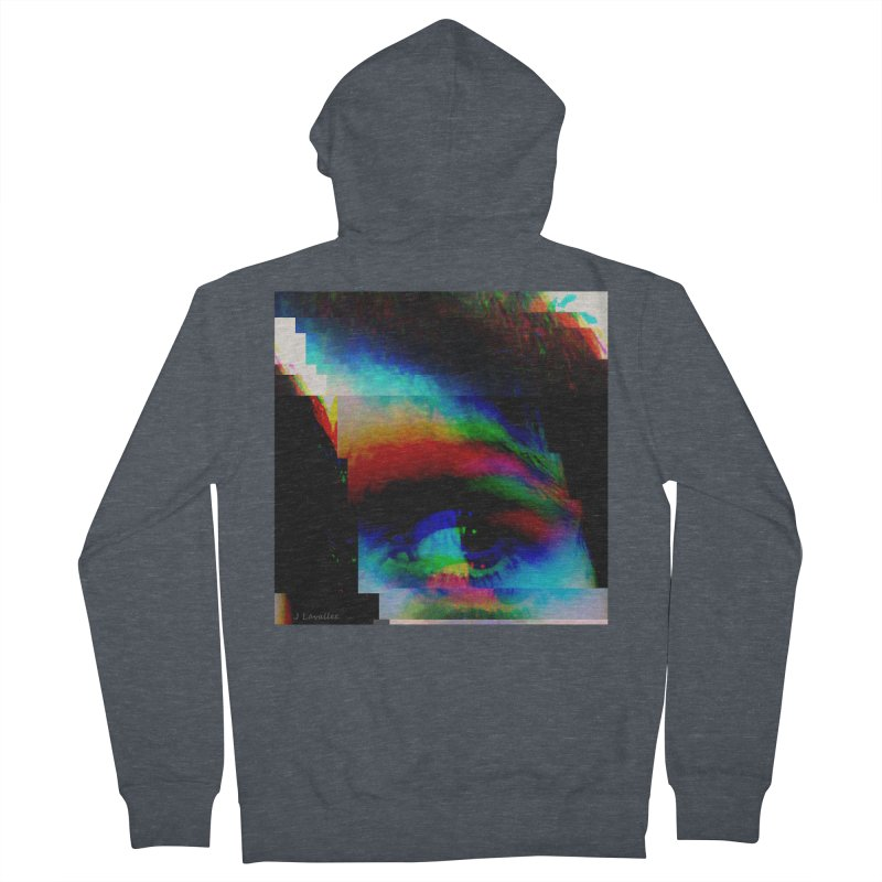drkness.png Men's French Terry Zip-Up Hoody by J. Lavallee's Artist Shop