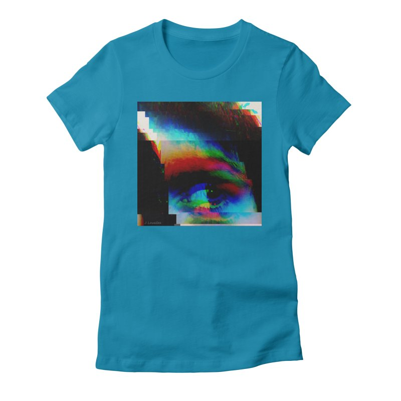 drkness.png Women's Fitted T-Shirt by J. Lavallee's Artist Shop