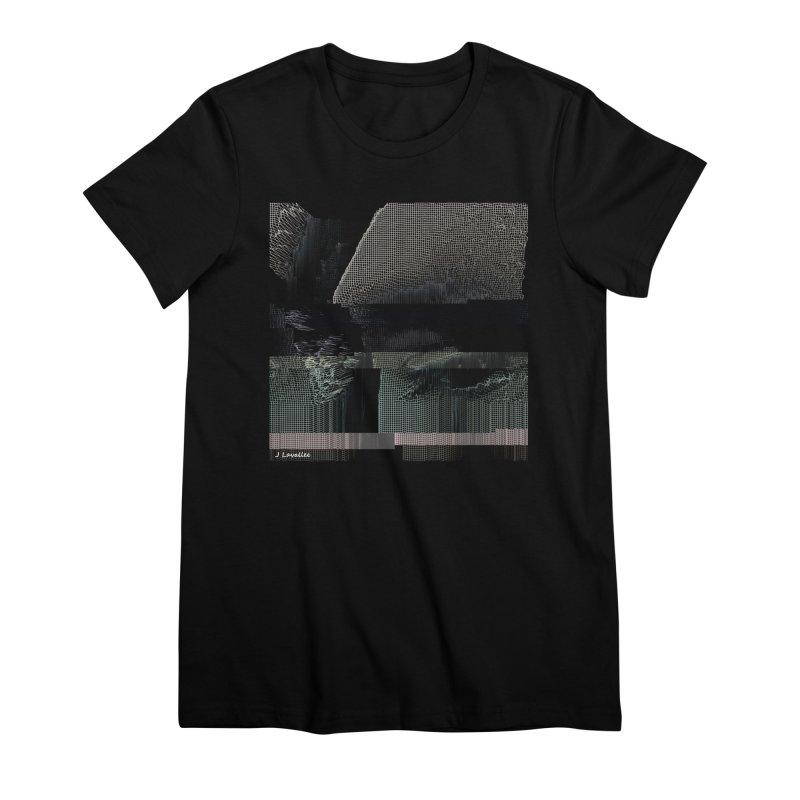 the simulation Women's Premium T-Shirt by J. Lavallee's Artist Shop