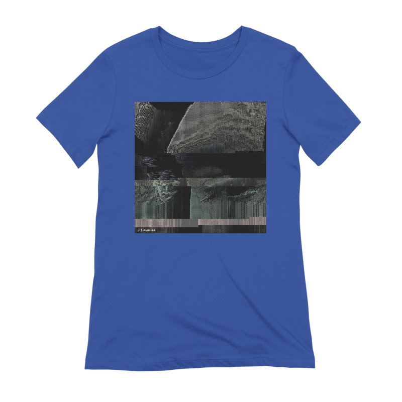 the simulation Women's Extra Soft T-Shirt by J. Lavallee's Artist Shop